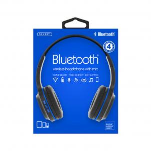 Industries BT105: Bluetooth Wireless Headphone With Mic Black