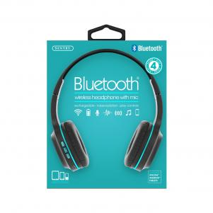 Industries BT105: Bluetooth Wireless Headphone With Mic Green