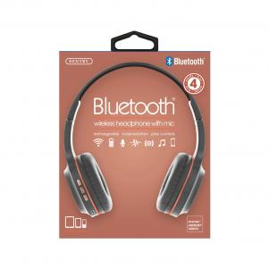 Industries BT105: Bluetooth Wireless Headphone With Mic Rose Gold
