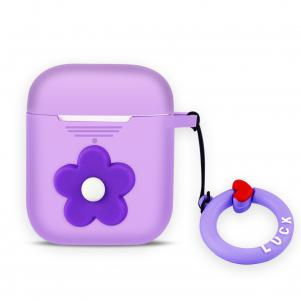 Reiko Design Case For Airpods In Purple