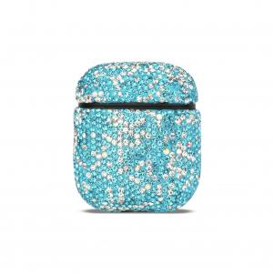 Reiko Case with Diamond for Airpods in Blue
