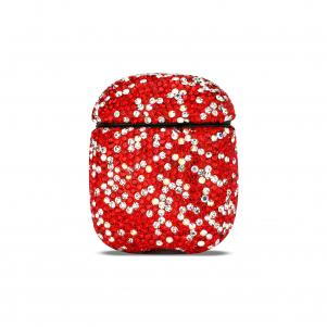 Reiko Case with Diamond for Airpods in Red