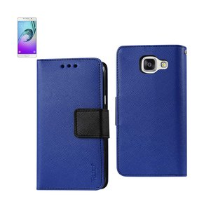 REIKO SAMSUNG GALACY A3 3-IN-1 WALLET CASE IN NAVY