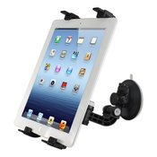 Reiko Universal Car Holder for Tablet/iPad In Black