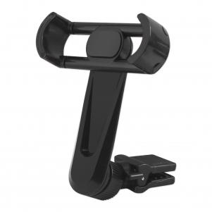 REIKO UNIVERSAL CELL PHONE AIR VENT CAR MOUNT HOLDER CRADLE IN BLACK