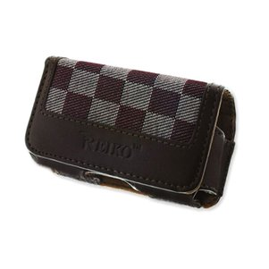 HORIZONTAL POUCH HP17B XS BROWN 3.35X1.75X0.91 INCHES