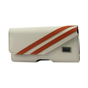 HORIZONTAL POUCH FOR SAMSUNG GALAXY S III I9300 TWILL PATTER WHITE (5.78X3.15X0.71 INCHES)