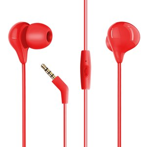 Hey Dr H86 In-Ear headphones in Red