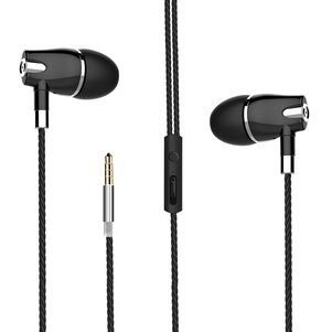 Hey Dr H89 Stereo Headset with Mircrophone in Black