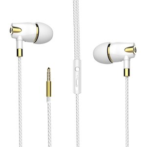 Hey Dr H89 Stereo Headset with Mircrophone in White