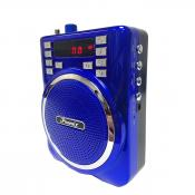 Portable PA System Speaker In Blue