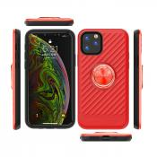 APPLE IPHONE 11 PRO MAX Case with Ring Holder In Red