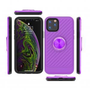 APPLE IPHONE 11 PRO Case with Ring Holder In Purple