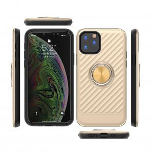 APPLE IPHONE 11 Case with Ring Holder In Gold