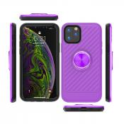 APPLE IPHONE 11 Case with Ring Holder In Purple