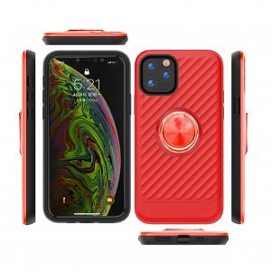 APPLE IPHONE 11 Case with Ring Holder In Red
