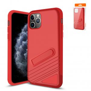 Reiko Apple iPhone 11 Pro Max Armor Cases In Red