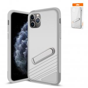 Reiko Apple iPhone 11 Pro Max Armor Cases In Silver