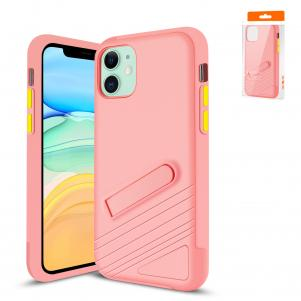 Reiko Apple iPhone 11 Armor Cases In Pink