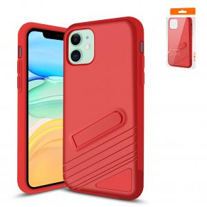 Reiko Apple iPhone 11 Armor Cases In Red