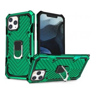 IPHONE 12/ IPHONE 12 PRO Kickstand Anti-Shock And Anti Falling Case In Green