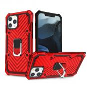 IPHONE 12/ IPHONE 12 PRO Kickstand Anti-Shock And Anti Falling Case In Red