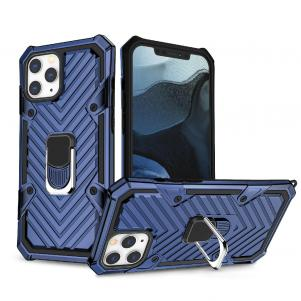 IPHONE 12 PRO MAX Kickstand Anti-Shock And Anti Falling Case In Blue