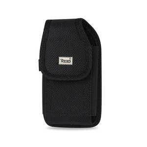Reiko Vertical Rugged Pouch With Belt Clip In Black (5.8X3.0X0.7 Inches)