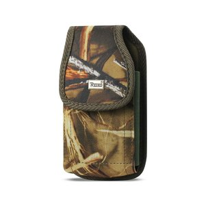 REIKO VERTICAL RUGGED POUCH SAMSUNG S5 WITH BUCKLE CLIP IN CAMOUFLAGE (5.99X3.25X0.72 INCHES PLUS)