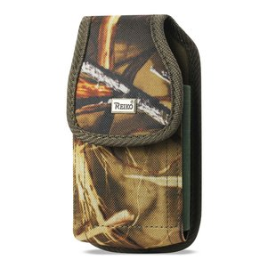 Reiko Vertical Rugged Pouch With Buckle Clip In Camouflage (6.1X3.2X0.7 Inches)