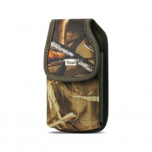 Reiko Vertical Rugged Pouch With Buckle Clip In Camouflage (5.3X2.7X0.7 Inches)
