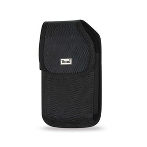 Reiko Vertical Rugged Pouch With Belt Clip In Black (7.0X3.9X0.7 Inches)