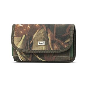 Reiko Horizontal Rugged Pouch With Velcro In Camouflage (3.5X2.1X1.1 Inches)