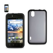 REIKO LG MARQUEE FRAME CLEAR BACK CASE IN BLACK