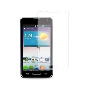 REIKO LG OPTIMUS F3 TWO PIECES SCREEN PROTECTOR IN CLEAR