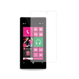 REIKO NOKIA LUMIA 521 TWO PIECES SCREEN PROTECTOR IN CLEAR