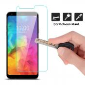 Reiko LG Q7 Lite Tempered Glass Screen Protector In Clear