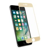 REIKO IPHONE 7 PLUS 3D CURVED FULL COVERAGE TEMPERED GLASS SCREEN PROTECTOR IN GOLD