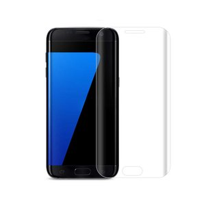 REIKO SAMSUNG GALAXY S7 EDGE 3D CURVED FULL COVERAGE TEMPERED GLASS SCREEN PROTECTOR IN CLEAR