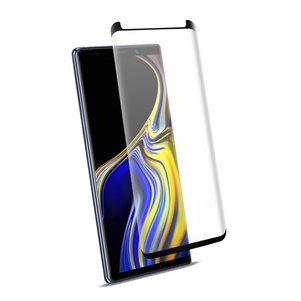 Reiko Samsung Galaxy Note 9 3D Curved Full Coverage Tempered Glass Screen Protector In Black
