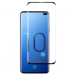 Reiko SAMSUNG GALAXY S10 Plus 3D CURVED FULL COVERAGE TEMPERED GLASS SCREEN PROTECTOR