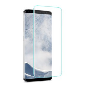 REIKO SAMSUNG GALAXY S8/ SM 3D CURVED FULL COVERAGE TEMPERED GLASS SCREEN PROTECTOR IN CLEAR