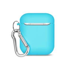 Reiko Silicone Case for Airpod in Light Blue
