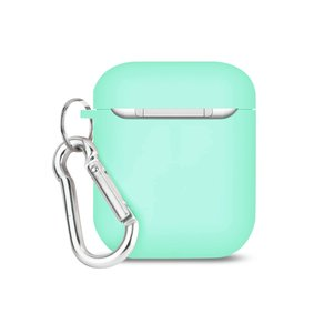 Reiko Silicone Case for Airpod in Mint Green