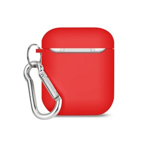 Reiko Silicone Case for Airpods in Red