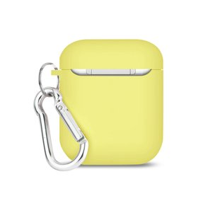 Reiko Silicone Case for Airpods in Light Yellow