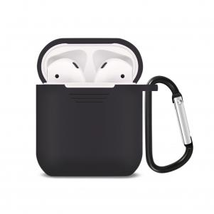 Reiko Silicone Case for Airpods in Black