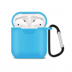 Reiko Silicone Case for Airpods in Blue
