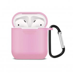 Reiko Silicone Case for Airpods in Pink