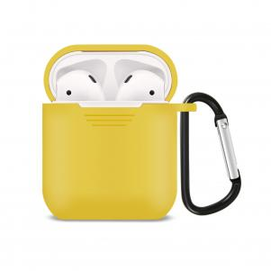Reiko Silicone Case for Airpods in Yellow